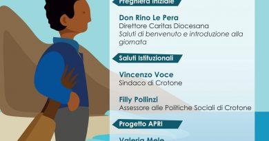 Giornata internazionale del rifugiato. Le iniziative della Caritas di Crotone.