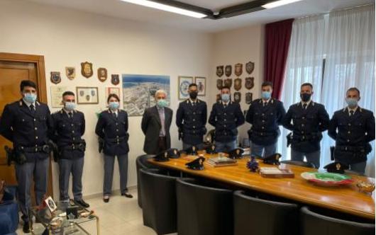 14 nuovi Agenti assegnati alla Questura di Crotone
