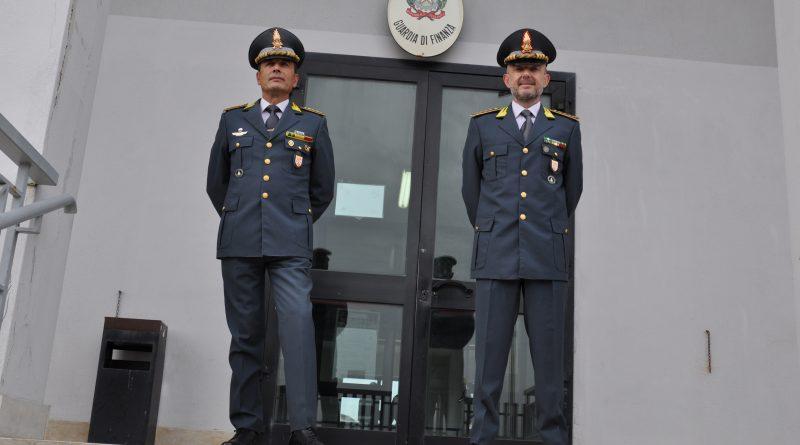 GUARDIA DI FINANZA CROTONE : CAMBIO AL VERTICE DEL COMANDO PROVINCIALE