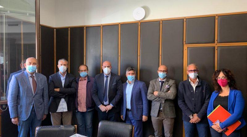 Comune di Crotone incontro con il direttivo Ance (Associazione Nazionale Costruttori Edili)