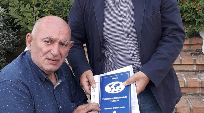 L'Ambasciatore a.d. dell'Abkhazia Grittani a Lamezia Terme
